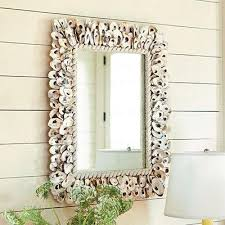 mirror home decor shell mirror european inspired home decor ballard designs