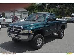 Dodge Ram 99 - 1999 dodge ram 1500 slt regular cab 4x4 in emerald green pearl