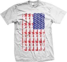 Flag With Ak 47 Ak 47 And Bullet American Flag 2nd Amendment Usa Mens T Shirt Ebay
