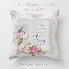 free shipping on shabby cushions shabby art boutique