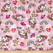 pink double sided fleece fabric com