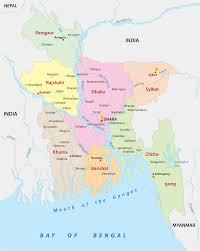 India Map Blank Pdf by Bangladesh Map Blank Political Bangladesh Map With Cities