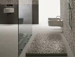 pebble tiles bathroom floor home design