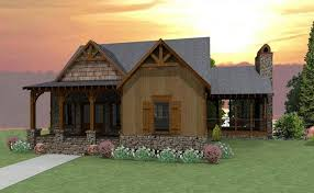 Craftsman Cabin by Cosy 11 Craftsman Cabin House Plans Plan 053h Homeca