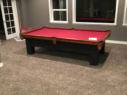 brunswick pool table assembly used antique brunswick 9 pool table assembly in highlands ranch