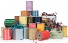 wraphia ribbon pearlized wraphia ribbon raffia ribbon the packaging source