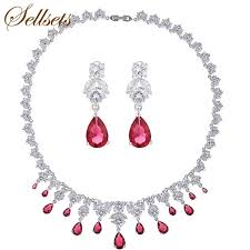 earrings statement necklace images Sellsets fashion statement necklace earring jewelry sets top aaa jpg
