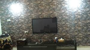 wallpaper design batu bata kertas dinding aria nak corak lagi tak kertas dinding