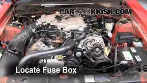2004 mustang fuse box replace a fuse 1994 2004 ford mustang 2004 ford mustang 3 9l v6