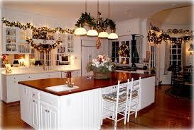 cuisine pour noel contemporain decorer sa cuisine pour noel vue clairage sur decorer