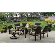 7pc Patio Dining Set Better Homes And Gardens Englewood Heights Ii 7 Patio Dining
