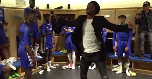 Dressing Room Pictures Chelsea U0027s Chalobah Brothers Enjoy Dressing Room Dance Off