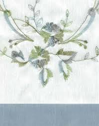ivy kitchen curtains grace embroidered kitchen curtains curtainworks com