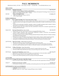 Samples Of Resumes For College Students by 8 Resumes Samples For College Students Manager Resume