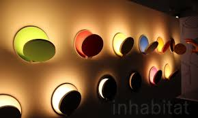 Led Wall Sconce Fixtures Flippable Dimmable Gravy Led Wall Sconces Are Playful Wall Candy