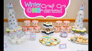 best winter wonderland birthday decorations youtube