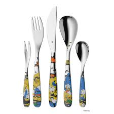 children u0027s cutlery 5 pcs donald duck wmf u2014 porzellanhaus kaefer