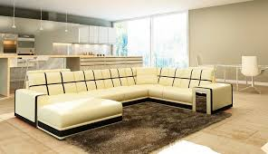 Leather Sectional Sofas Sale Beige Leather Sectional Sofa Vg078 Leather Sectionals