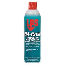 lps em citro emulsion degreaser size 20 oz 2hyx6 02820 grainger