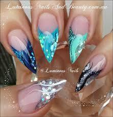 top 25 best teal acrylic nails ideas on pinterest mint acrylic