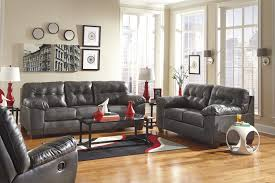 buy alliston durablend gray living room set by signature design