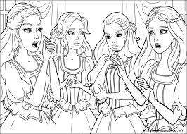 barbie musketeer coloring pages printable bebo pandco