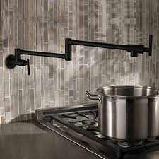 Pot Filler Kitchen Faucet Black Wall Mounted Pot Filler Kitchen Faucet Folding Kitchen