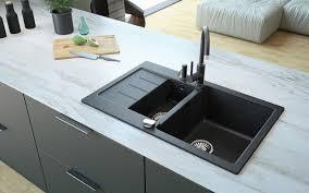 Granite Sinks 1 5 Bowl Composite Granite Sinks Lavello Sinks