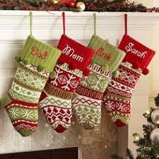 Pottery Barn Kids Stockings Knit Christmas Stockings U0026 Big Christmas Stockings Pottery Barn