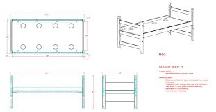 bed measurements residence hall room furniture university housing dining