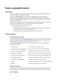 Best Resume Sections by Resume Skills And Abilities Example Berathen Com