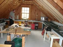 shannon inside out my family s route 2 rural attic space above garage home of my new studio