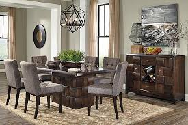 Our New Table So Excited To Have It Delivered To Our New Home - Ashley dining room chairs