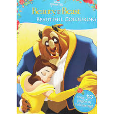 beauty beast beautiful colouring children u0027s colouring