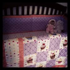 Cupcake Crib Bedding Set Nursery Adorably