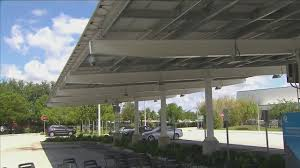 Solar Canopy by Fpl Fires Up Solar Power Canopy At Young At Art Museum
