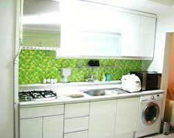 green kitchen backsplash tile green tile kitchen backsplash kitchentoday