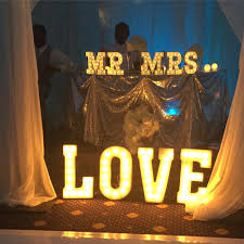 rent marquee light up letters