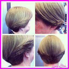back view of wedge haircut dorothy hamill wedge haircut pics livesstar com