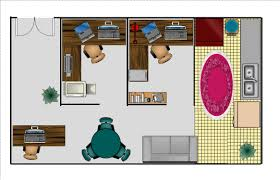 Easy Floor Plan Creator by Interior Single Office Floor Plan Within Pleasant Home Office