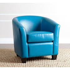 Blue Leather Armchair Fancy Armchair Blue 20 Inspiringly Charming Blue Living Room