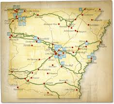 arkansa road map the trail of tears history arkansas trail of tears