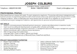 business resume format free curriculum vitae sle business administration administrative