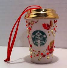 mug ornament starbucks christmas holidays and swarovski on