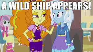 Trixie Meme - equestria girls adagio x trixie meme by krazykari on deviantart