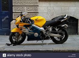 honda cbr motorbike honda cbr motorbike in dublin ireland stock photo royalty free