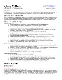 electronic resume sample sample ministry resume pastor