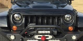jeep black headlights raxiom led headlights jeepmodreview com