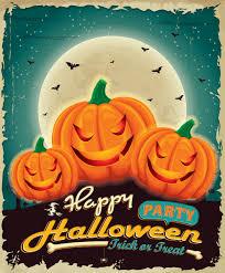 download 5 free halloween party vector designs
