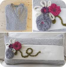 cucire un cuscino tutorial di cucito il maglione riciclato diventa un cuscino